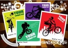 bmx cyklista Obrazy Stock