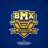BMX-embleem Royalty-vrije Stock Afbeeldingen