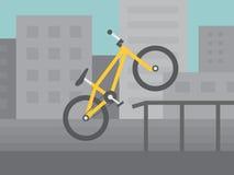 BMX Fahrrad Vektor Abbildung