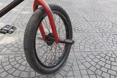 BMX-Fahrradrad Stockbild