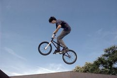 BMX Flyer Royalty Free Stock Photo
