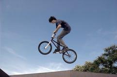 BMX Flyer royalty free stock photo