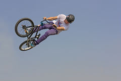 Bmx freestyle Royalty Free Stock Photos