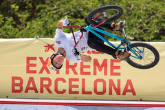 BMX Freestyle Extreme Barcelona 2014 Stock Photography