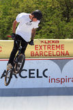 BMX Freestyle Extreme Barcelona 2014 Royalty Free Stock Photos