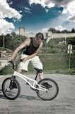BMX Freestyler Royalty Free Stock Photos