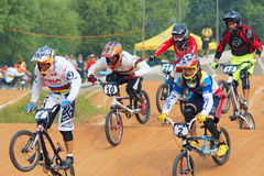 BMX game royalty free stock images
