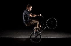 BMX Icepick grind Stock Photography