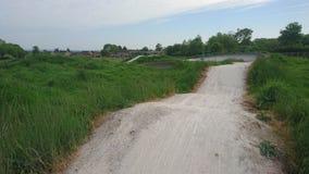 Bmx śladu parka biegowego kursu kolarstwo Fotografia Royalty Free