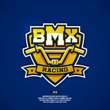 BMX logo. Royalty Free Stock Images