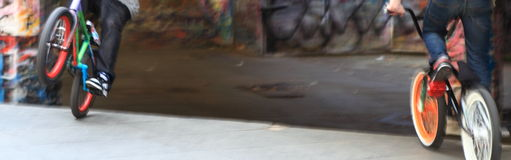 BMX Mitfahrer Lizenzfreie Stockfotografie