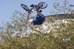bmx motocyklistów Zdjęcia Royalty Free