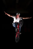 BMX Nohand Lizenzfreie Stockbilder