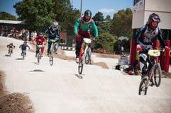 BMX race Royalty Free Stock Photography