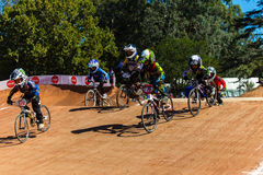 BMX Racing Boys Nationals Stock Photos