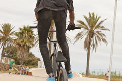 BMX rider Royalty Free Stock Photo