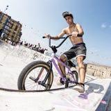 Bmx rider Stock Photography