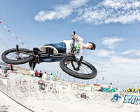 Bmx rider Royalty Free Stock Images