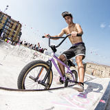 Bmx rider Stock Photography