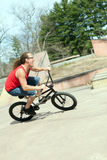 BMX Rider Having Fun Foto de archivo