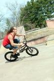 BMX Rider Having Fun Stock Photo