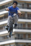 BMX riders Stock Images