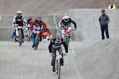 BMX riders Royalty Free Stock Image