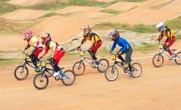 BMX rywalizacja obraz stock