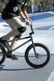 BMX skok Zdjęcia Stock