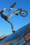 bmx skok Fotografia Stock