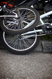 BMX(special photo f/x) Royalty Free Stock Images