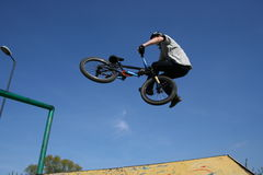 Bmx tailwhip Stock Photos