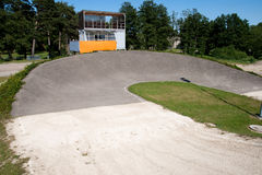 BMX track Royalty Free Stock Photos