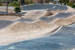 BMX Training Racing Track for Olympic Athletes Stock Photography