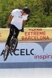 BMX-Vrij slag Extreem Barcelona 2014 Royalty-vrije Stock Foto's