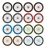 Bmx wheels - sets Stock Photos