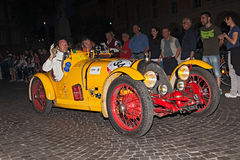 BNC 527蒙扎(1927)在Mille Miglia 2015年 免版税库存照片