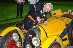 BNC 527 Monza 1927, on 1000 miles race royalty free stock photos