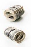Bündel Dollarscheine Stockbild