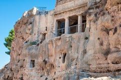 Bnei Hazir tomb in Jerusalem. Royalty Free Stock Photo