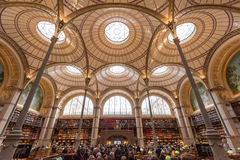 BNF Labrouste Library Royalty Free Stock Photo