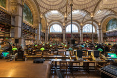 BNF Labrouste Library Stock Photos