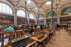 BNF Labrouste Library Royalty Free Stock Photos