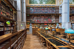 BNF Labrouste Library Stock Images