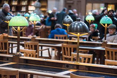 BNF Richelieu Library Stock Photography