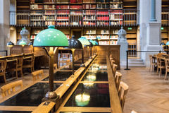 BNF Richelieu Library Royalty Free Stock Image