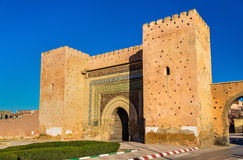 Bni Mhammed Gate in Meknes, Morocco. Bab Bni Mhammed Gate in Meknes - Morocco royalty free stock photo