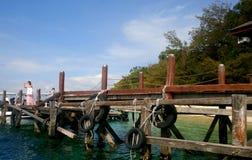 Sabah getaway, the land below the wind! stock image