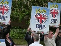 BNP голосования стоковое изображение