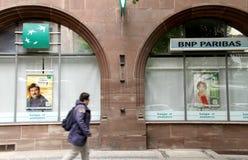 BNP Paribas bank Stock Image